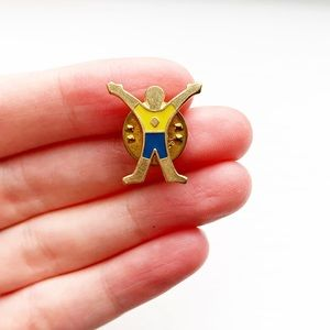 Cub Scout Webelos 'Fitness' activity pin